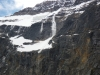 Avalanche at Mount Edith Cavell