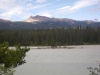 The Athabasca river.