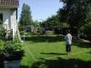 Plats för spel på gräsmattan