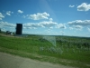 We could see many oil wells along the road.