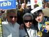 Karin, Birgit och Daniel