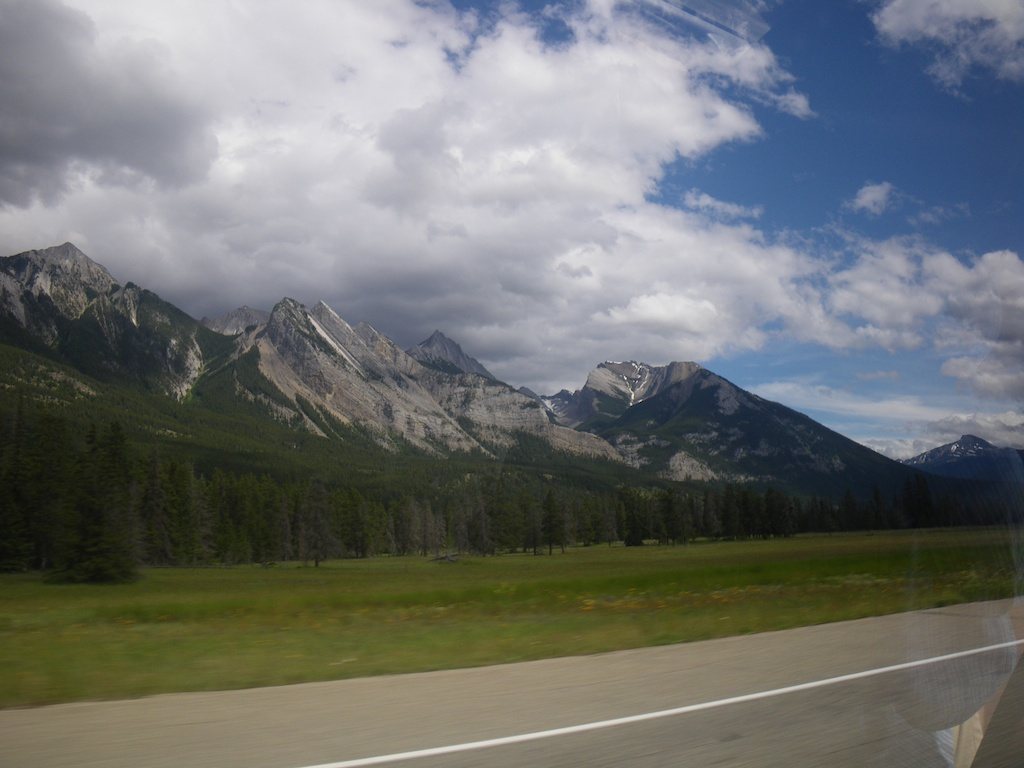 More wonderful formed mountains.