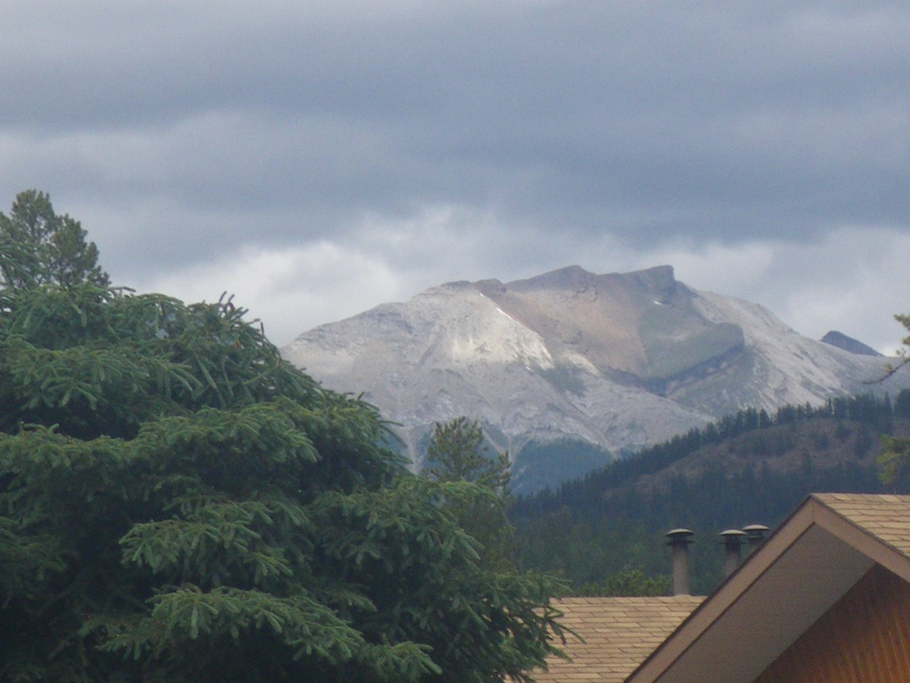 Mountain view from Beckers Charlets.