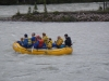 River rafting at Athabasca River near Becker's Chalets
