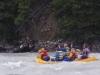 River rafting at Athabasca River near Becker's Chalets