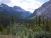 Leaving Columbia icefield and head for Banff