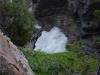 Down streams at Athabasca falls