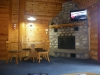 Cabins fire place