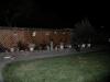 Smiths trädgård på natten